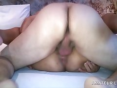 BRAZILIAN WIFE PUSSYFUCKING AND HUSBAND WATCHING https://amateurlifesex.blogspot.com/