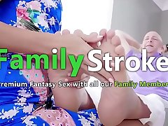 FamilySTROKE.net - New Stepmom Squirting superior to before Son'_s Cock