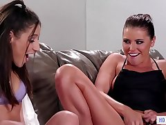 Bachelorette party turns into a squirting orgy - Adriana Chechik, Abella Bet and Luna Star