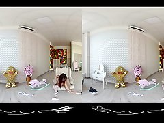 Compilation of bonny solo girls teasing in HD Virtual Reality video