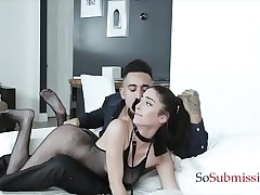 Teen Submissive Gets Abused &amp_ Shamefaced By Her Dom