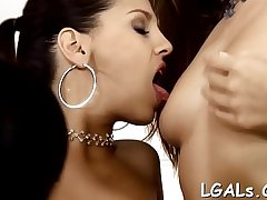 Vehement babes will caress in a lot of different positions