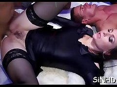 Salacious shafts and twats gratifying during orgy party