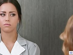 Spoiled slut tricked by a maid and a friend - Kristen Scott, Alina Lopez and Jane Wilde