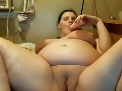 Pregnant on Chaturbate, old video