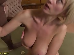 heavy gut milf first time bbc anal fucked