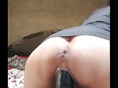 Indian god Grown Anal toy destroyed Hot beautiful wife audrey ass riding new huge BBC dildo
