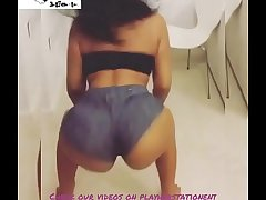 Play Her Station Ent Big Monster Booty Blackguardly Twerking Thick Juicy Ass