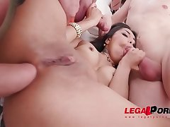Madison Lush &amp_ Anna Rey all in with Drink Festival, Gapes, DAP, Balls Deep Anal
