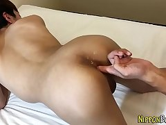 Twink asian ass fingered