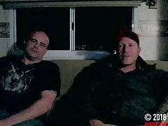 Hidden cam straight mature guy jerks and cums with me