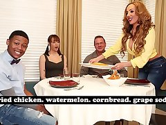 BANGBROS - MILF Richelle Ryan Adopts Lil D'_s Big Black Cock, Invites Him Abstain from For Dinner