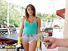 BANGBROS - Valentina Jewels'_s Latin Big Ass Bouncing All Drop Derrick Ferrari'_s Powerful Cock