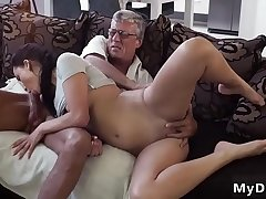 Old couple outdoor and doctor fuck young What would you choose -