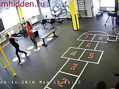 fito girls in the fitness club hidden camera
