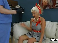 Frisky teenie is taken in butt hole nuthouse for mincing therapy